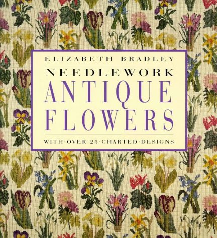 9780091868802: Needlework Antique Flowers: With Over 25 Charted Designs