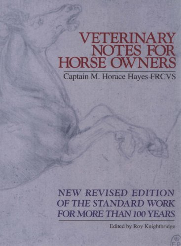 9780091879389: Veterinary Notes for Horse Owners