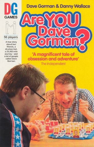 Are You Dave Gorman? (SCARCE COPY SIGNED BY DAVE GORMAN)