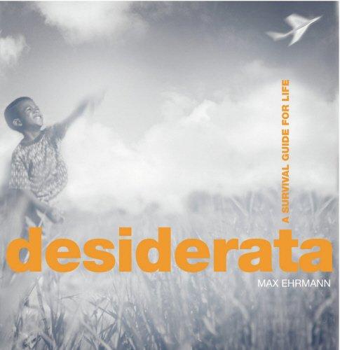 9780091889098: Desiderata - A Survival Guide For Life