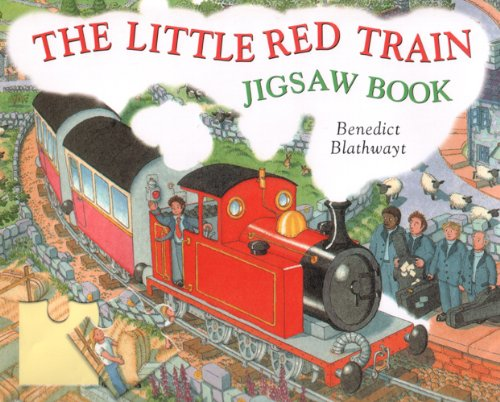 The Little Red Train Jigsaw Book: Benedict Blathwayt