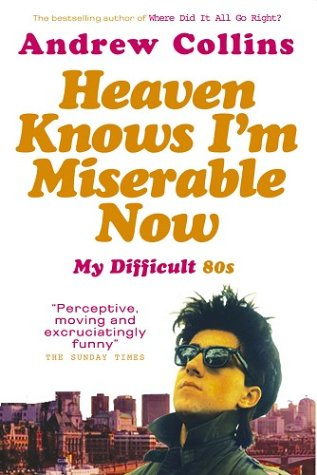 9780091897482: Heaven Knows I'm Miserable Now: My Difficult 80s: My Difficult Student 80s