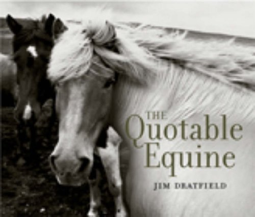9780091897598: The Quotable Equine