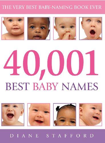 9780091900007: 40,001 Best Baby Names