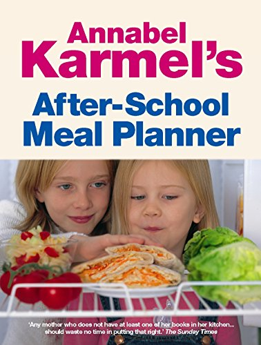 9780091905002: Annabel Karmel's After-School Meal Planner.