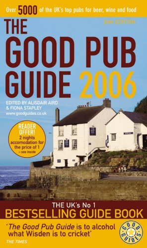 9780091905903: The Good Pub Guide 2006