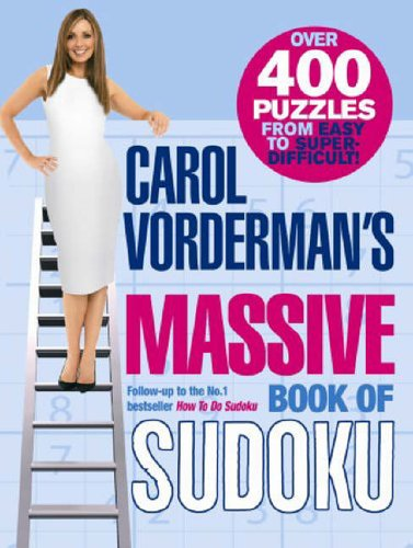 9780091910426: Carol Vorderman's Massive Book of Sudoku