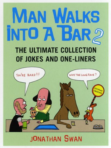 9780091913694: Man Walks Into a Bar 2: The Ultimate Collection of Jokes and One-Liners