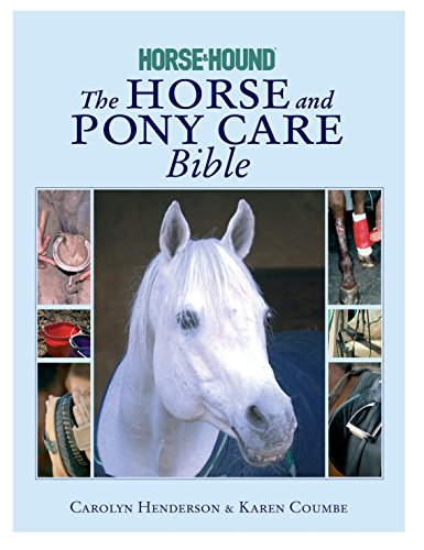 9780091917678: The Horse and Pony Care Bible: In association with Horse and Hound