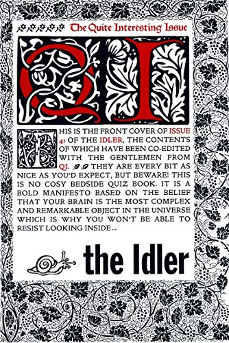 """9780091923013: The """"Idler"""": Issue 41: QI Issue"""
