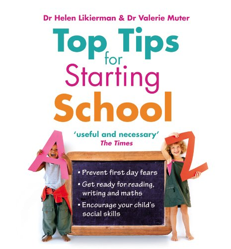 9780091924133: Top Tips for Starting School