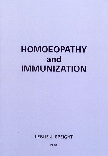 9780091929954: Homoeopathy and Immunization