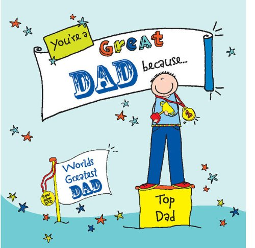 9780091938222: You're a Great Dad Because. . . (Suga-Lumps Giftbook)