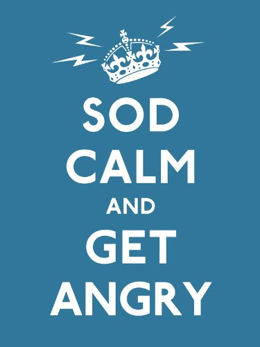 9780091938703: Sod Calm and Get Angry: resigned advice for hard times (Gift Book)