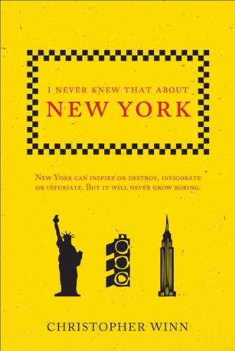 9780091945244: I Never Knew That about New York. Christopher Winn