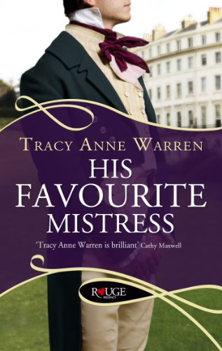 9780091950262: His Favourite Mistress (Rouge Regency Romance)