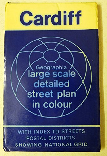 9780092005305: Geographia plan of Cardiff,: With the national grid
