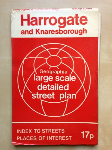9780092008702: Harrogate and Knaresborough streetplan: With index to streets, places of interest : a Geographia map