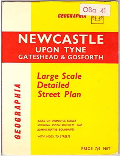 9780092012006: Newcastle-upon-Tyne Street Plan: 1m-4