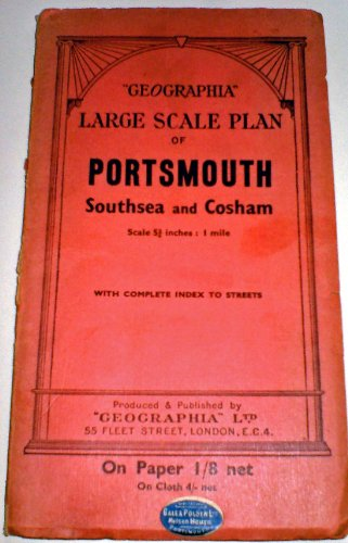 9780092013003: Portsmouth, Southsea and Cosham: Detailed Street Plan
