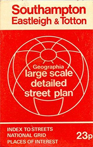 9780092014208: Southampton, Eastleigh and Totten Street Plan: 1m-4
