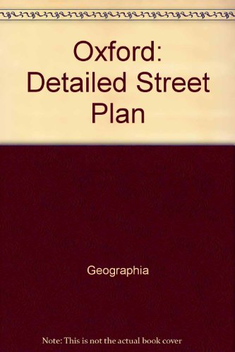 9780092018008: Geographia street plan of the city of Oxford with the national grid