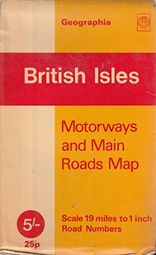 9780092023309: British Isles Map: Road Map: