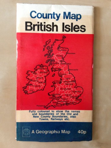 9780092023606: Geographia map of the British Isles