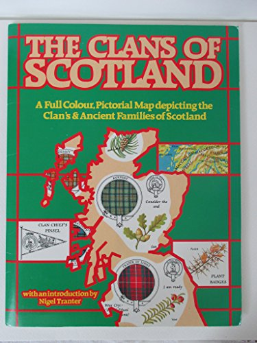 9780092025402: The clans of Scotland: A full colour pictorial map depicting the clan's [sic] & ancient families of Scotland