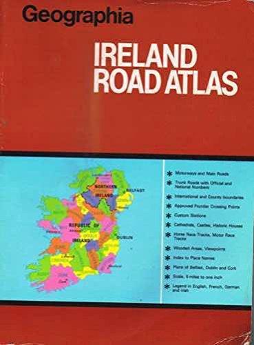 9780092027703: Geographia Ireland road atlas