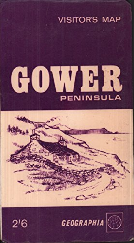 9780092032400: Gower Peninsula Visitor's Map - 1 inch:1 mile