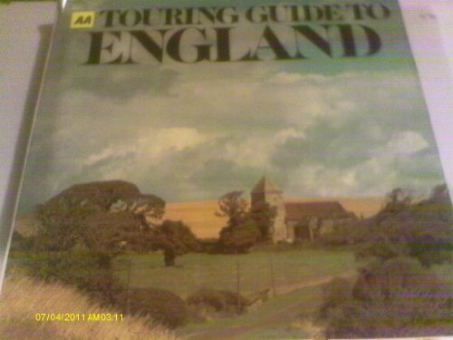 9780092115509: AA Touring Guide to England