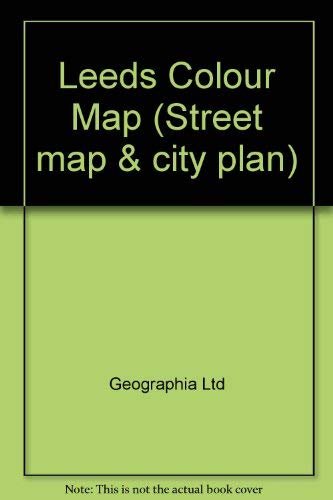 9780092174100: Leeds Colour Map (Street map & city plan)