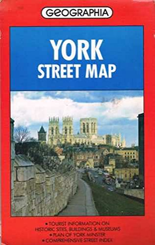 9780092175909: York Street Map (Street map & city plan)