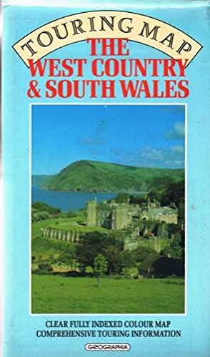 9780092176203: West Country and South Wales Touring Map