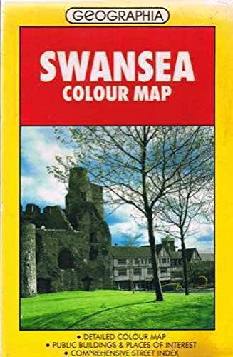 9780092176906: Swansea Street Plan: Colour (Street map & city plan)