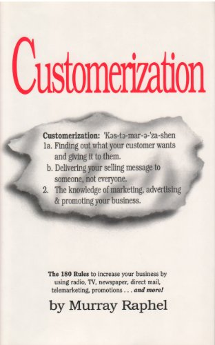 9780092480751: Customerization