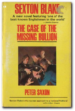 9780093001702: Sexton Blake: The Case of the Mission Bullion