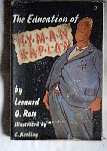 9780094517202: Education of Hyman Kaplan