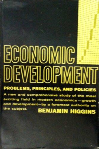9780094538825: Economic Development Principles, Problems, and Policies