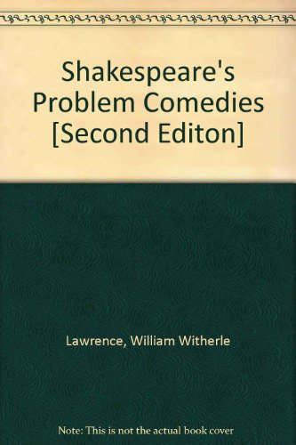 9780094539105: Shakespeare's Problem Comedies