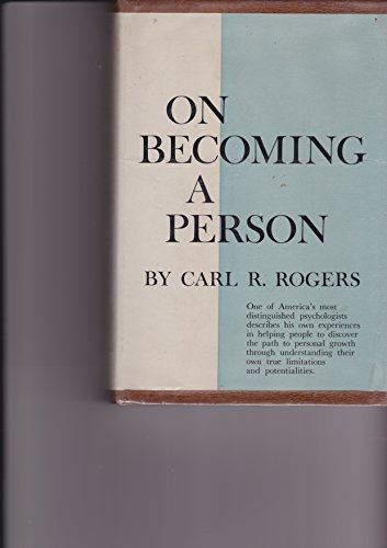 9780094540200: On Becoming a Person