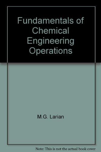 9780094549401: Fundamentals of Chemical Engineering Operations