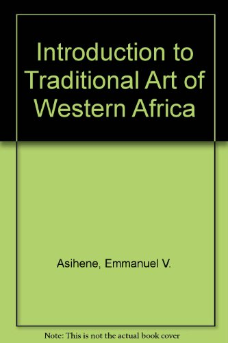 9780094573208: Introduction to Traditional Art of Western Africa
