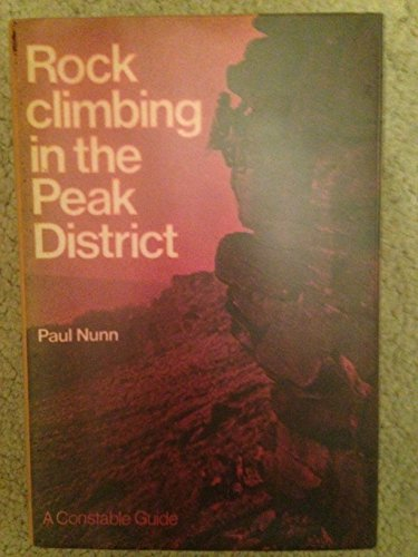 9780094582507: Rock Climbing in the Peak District