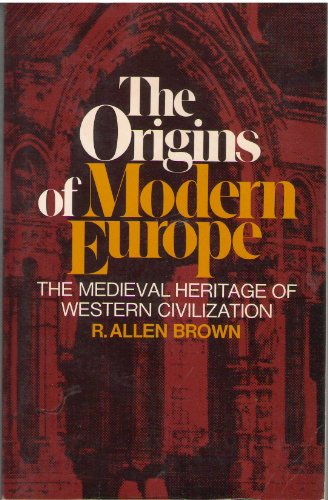 9780094589803: The Origins Of Modern Europe