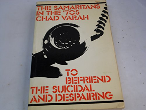 9780094592605: Samaritans in the 70's