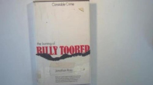 9780094596108: The Burning of Billy Toober