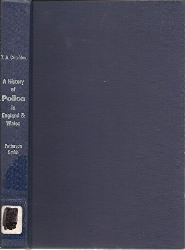 9780094614901: History of Police in England and Wales