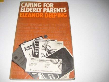 9780094620605: Caring for Elderly Parents